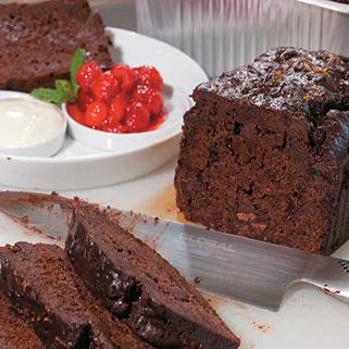 Sticky Chocolate and Prune Loaf